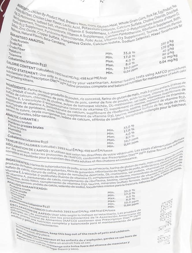 Amazon.com : Hills Diet I/D Feline Gastrointestinal Health Cat Food 4Lb Bag : Dry Pet Food : Pet Supplies