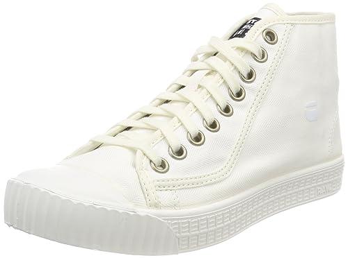 G-STAR RAW Rovulc Denim Mid Sneakers, Zapatillas para Mujer: Amazon.es: Zapatos y complementos