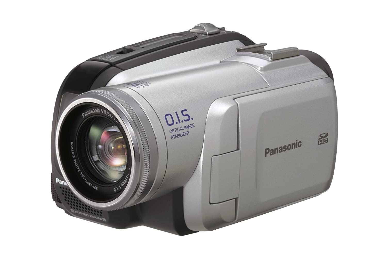 amazon com panasonic pv gs85 minidv camcorder with 32x optical rh amazon com Panasonic Handicam Panasonic Studio Camera
