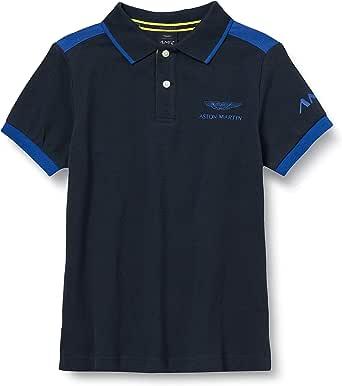 Hackett London Amr Contrast Plkt B Camisa Polo para Niños