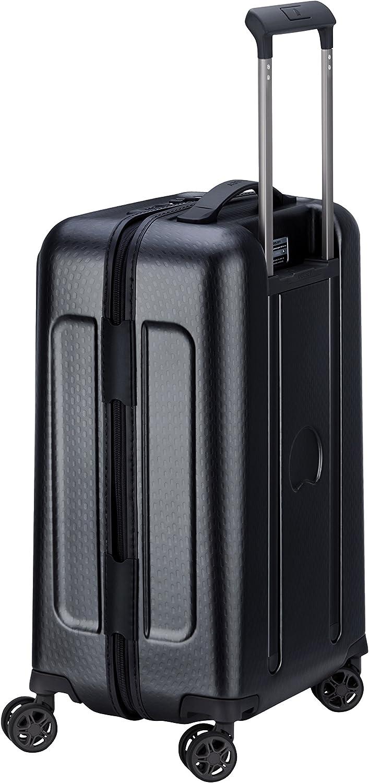 Black 55 cm DELSEY PARIS TURENNE Hand Luggage 43 liters Noir