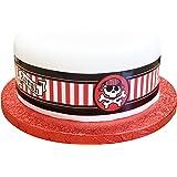 Decoración para tarta de en forma de carabela con diseño de pirata ...