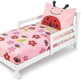 Skip Hop 4 Piece Toddler Bedding Set, Ladybug (Discontinued by Manufacturer)