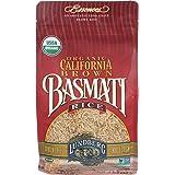 Lundberg Family Farms - Organic California Brown Basmati Rice, 100% Whole Grain, High Fiber, Pantry Staple, Great for Cooking
