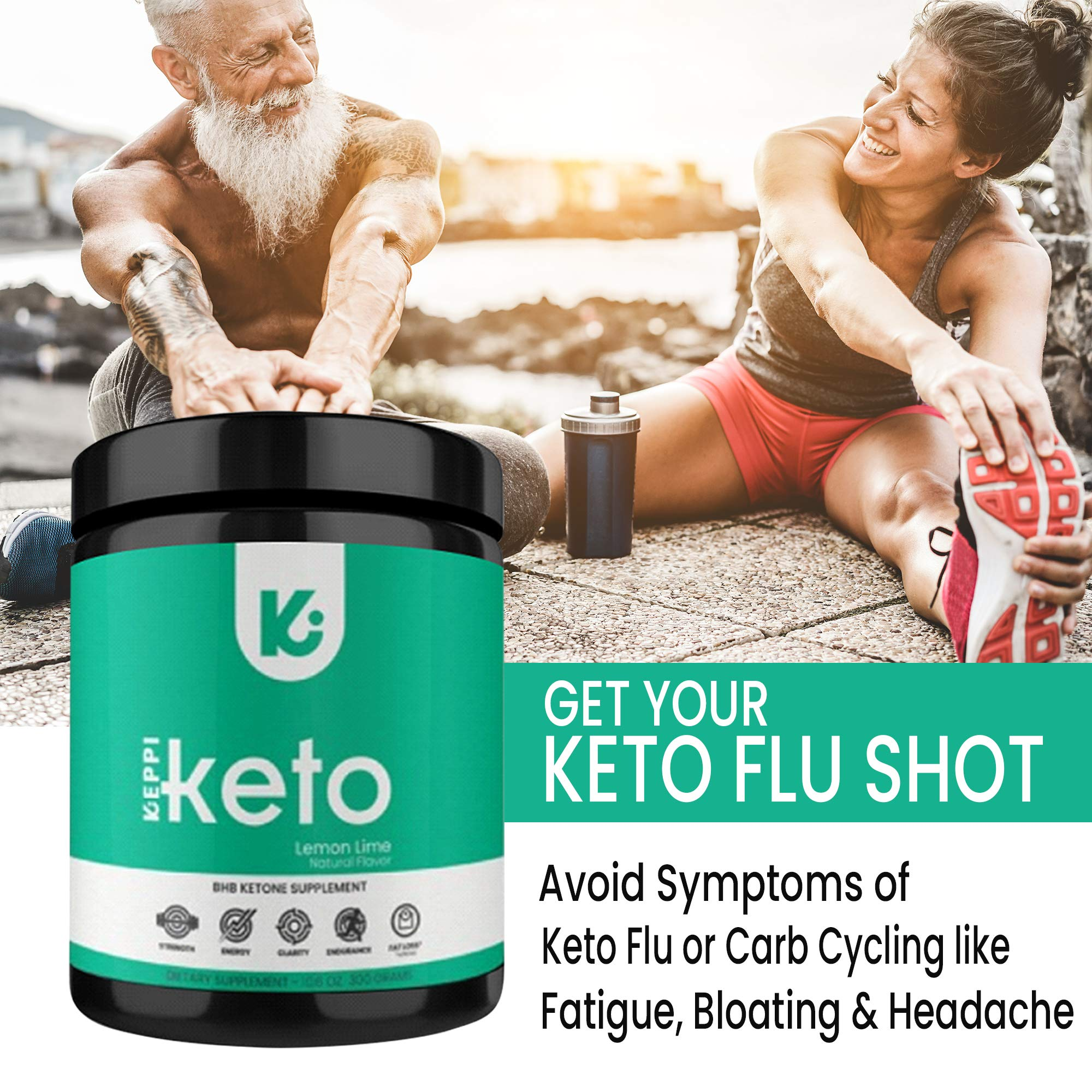 KEPPI Keto Exogenous Ketones Powder Supplement: Patented BHB Salts Formulated to Increase Energy, Burn Fat, Maintain Ketosis and Mental Focus on The Ketogenic Diet by Keppi (Image #5)