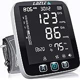 LAZLE Blood Pressure Monitor - Automatic Upper Arm Machine & Accurate Adjustable Digital BP Cuff Kit - Largest Backlit…