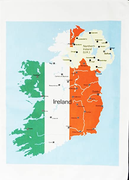 Amazon Com Half A Donkey Map Of Ireland And Northern