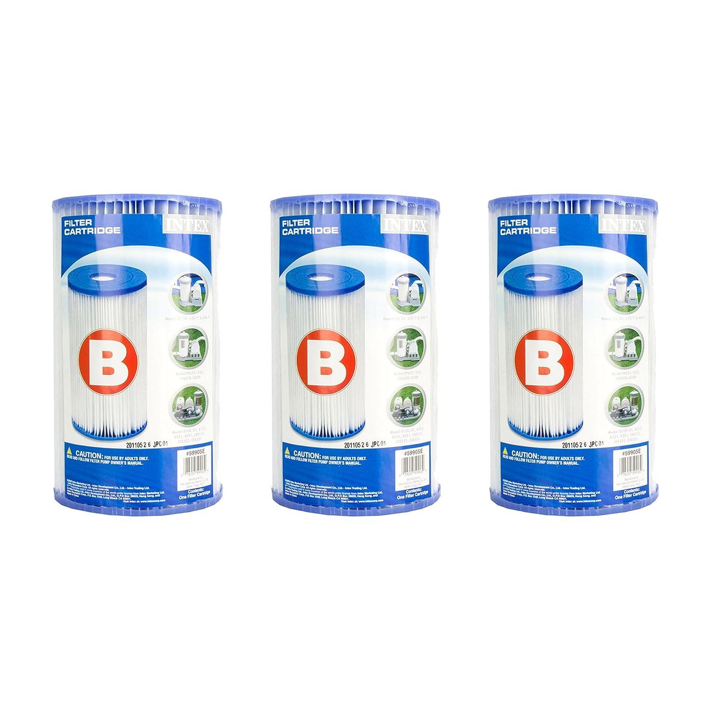 Piscina Intex Easy set cartuccia del filtro – Tipo B (3 pezzi)   29005E (59905E)