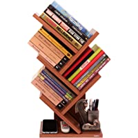Captiver Stemma Wall Mounted Book Stands Table Accessory Furniture In Classic Walnut Color
