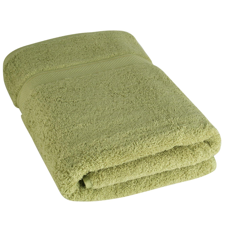 Toallas de baño de lujo de Cozy Homery - Blanco - 100% algodón orgánico natural egipcio 650 GSM - Uso multipropósito para baño, piscina, gimnasio y spa
