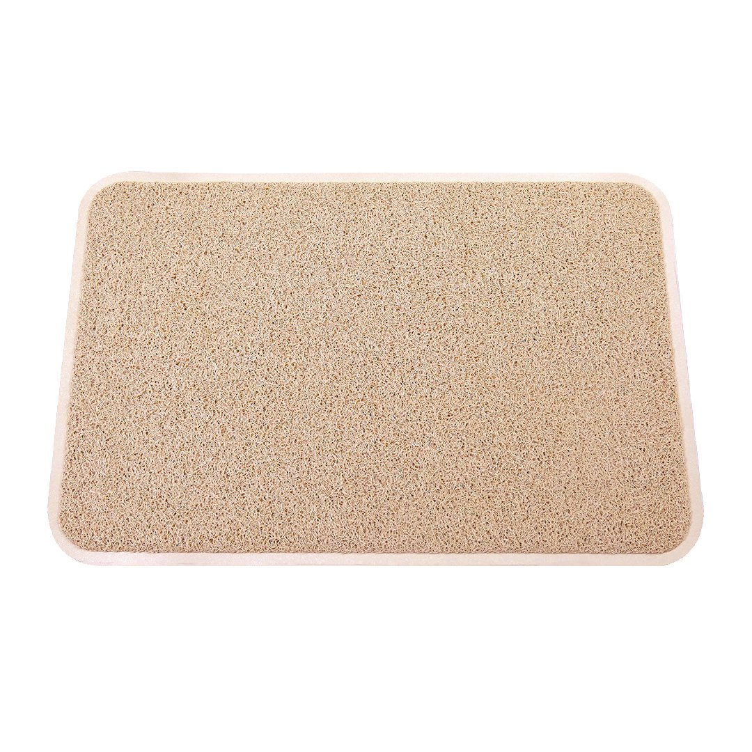 Smartcatcher Mats Color Splash Collection Beige Brown Color Cushioned Comfort Non-Slip Mat For Kitchen & Bathroom, Waterproof, Protect Floors From Water Damages, 100% No Odor Emission, 36 x 24 In by Smartcatcher