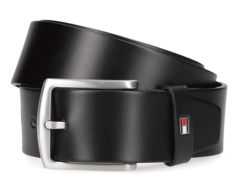 TOMMY HILFIGER New Aly Belt W105 Gürtel Accessoire Black Schwarz Neu