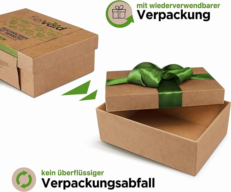 Fielvald - Edelstahl Lunchbox Verpackung