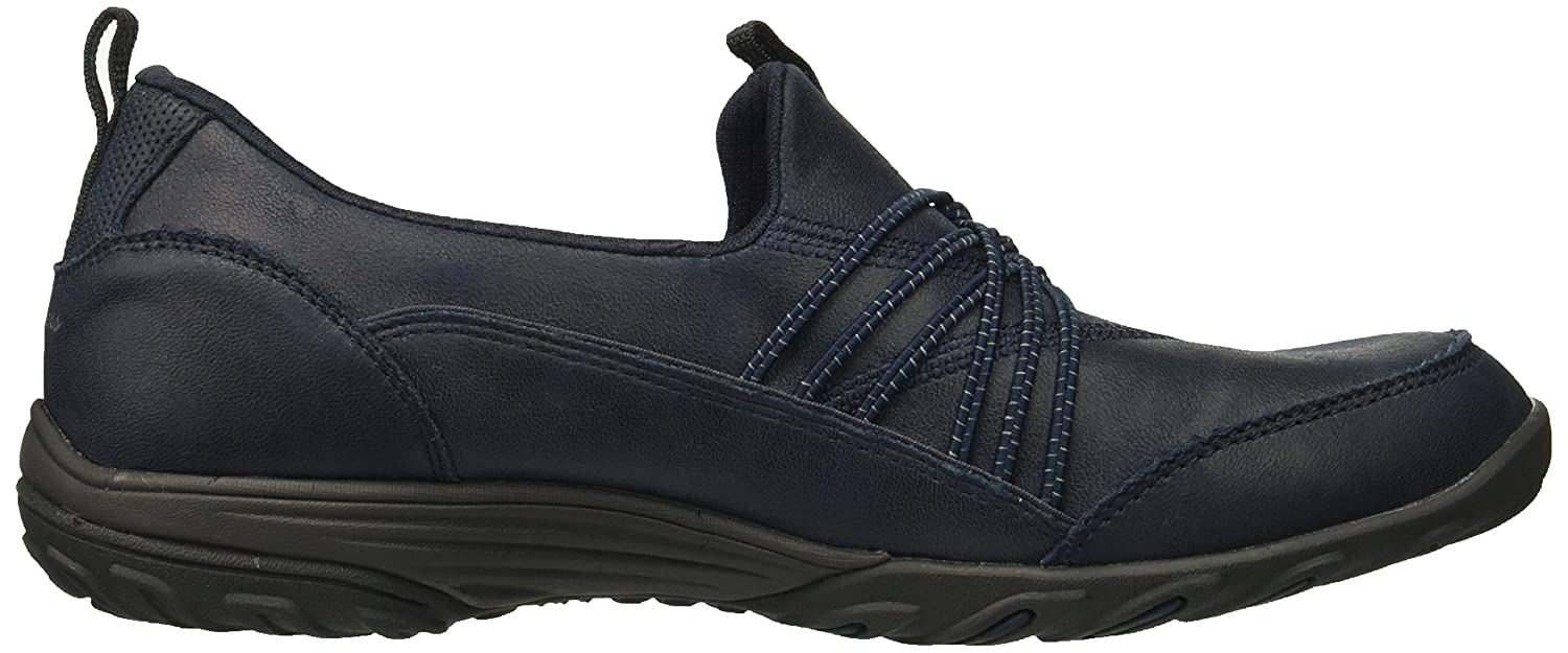 Skechers Women's B072ZF3XS8 Empress Lets BE Real Sneaker B072ZF3XS8 Women's 6 B(M) US|Navy 5d4c96