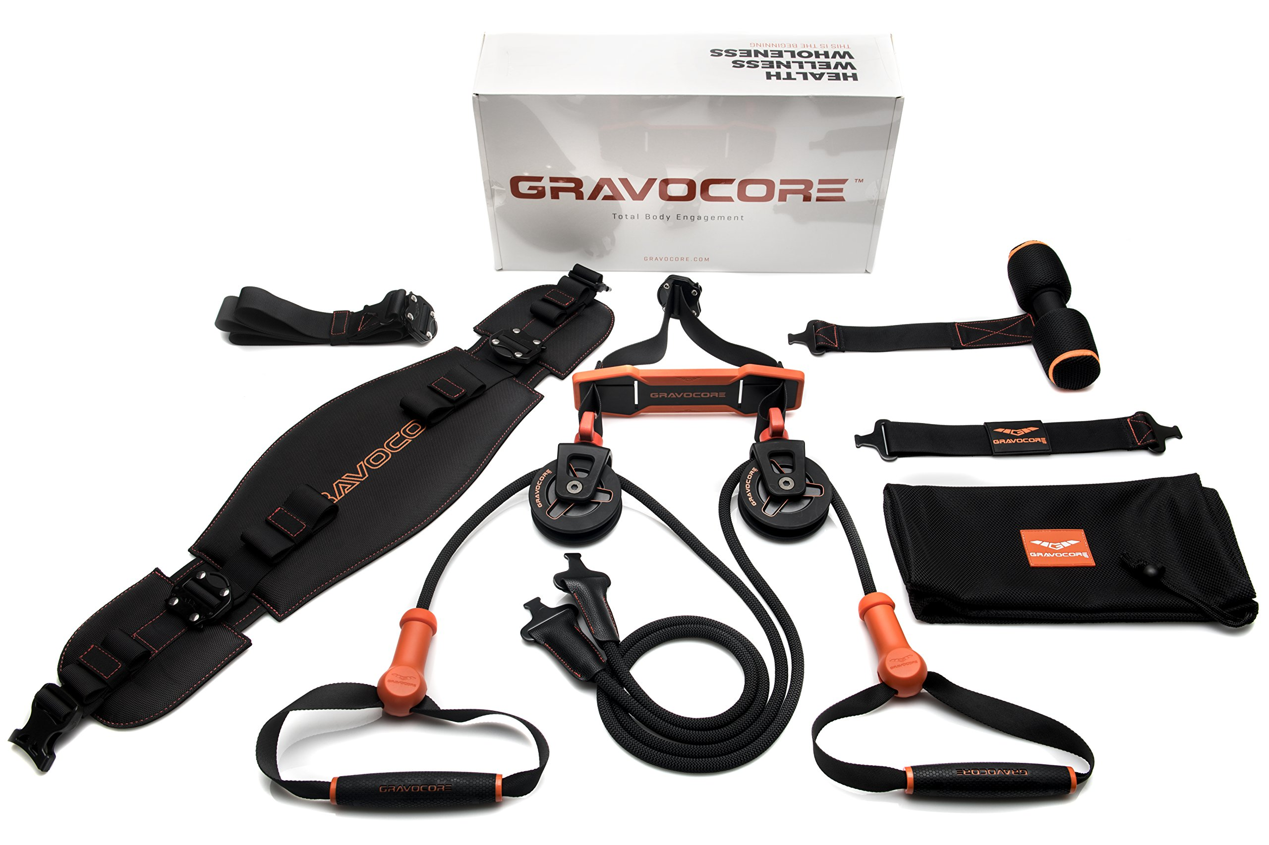 Gravocore Revolutionary Training Machine | Build Muscle & Burn Fat | Portable & Lightweight | Workout In Less Time | Variable Intensity Routines | Easier On Joints & Back | Digital Workouts Included by Gravocore