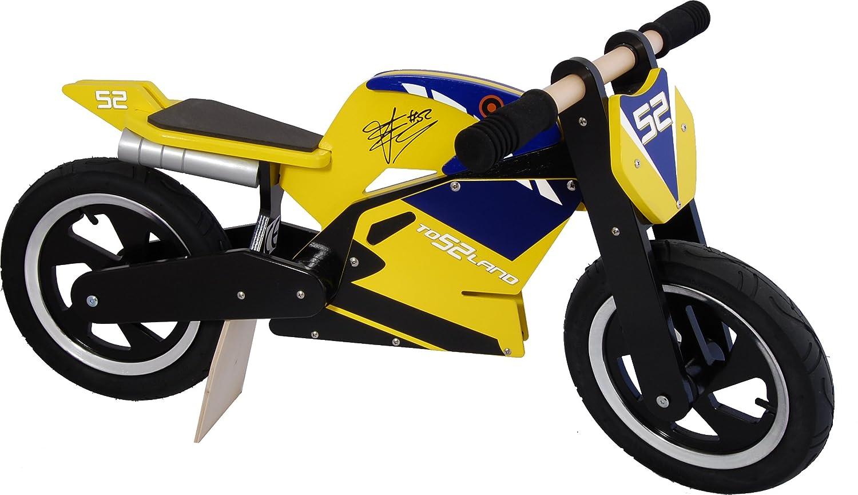 Amazon com: Kiddimoto James Toseland Hero Balance Bike
