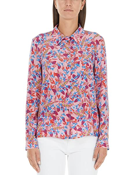 Marc Cain Collections JC 51.08 W37, Blusa Para Mujer, Mehrfarbig (Blossom 233), 36 amazon el-rosa