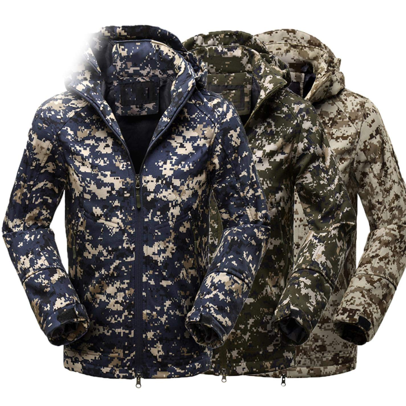 Amazon.com: SmXVr Men Outdoor Mountaineering Camouflage ...