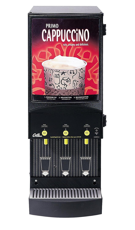 Wilbur Curtis Café Primo Cappuccino System 3 Station Cappuccino (4 Lb Hoppers) - Commercial Cappuccino Machine - CAFEPC3CS10000 (Each) Wilbur Curtis Co. Inc.