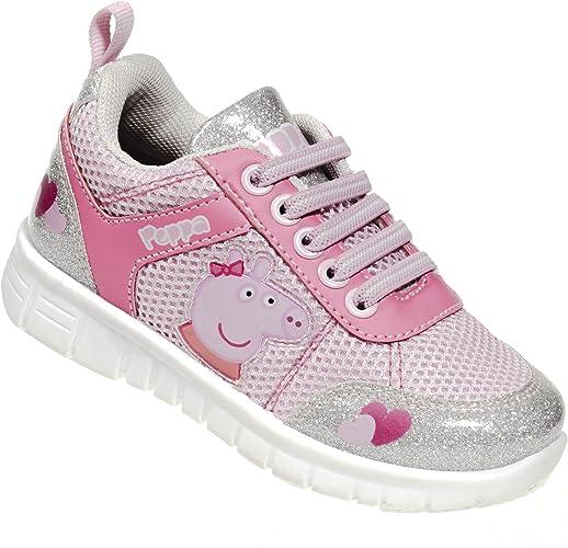 Amazon.com: Peppa Pig Zapatillas de correr para niños y ...
