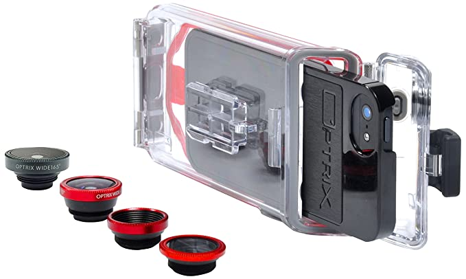 quality design 74363 7fb66 Amazon.com: Optrix by Body Glove PhotoX Waterproof Case with 2 ...