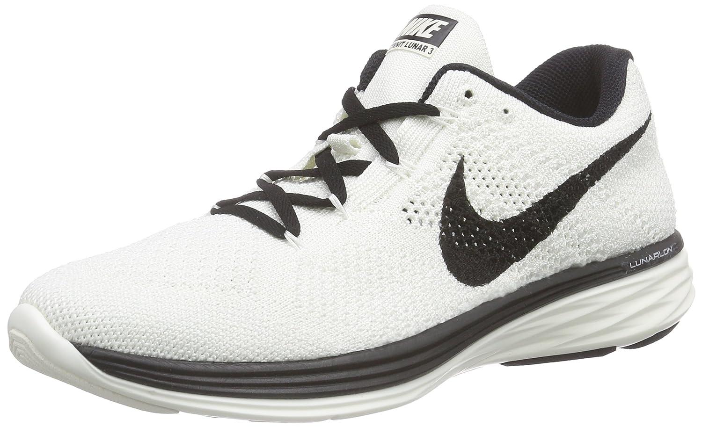 NIKE Women's Flyknit Lunar3 Running/Training Shoes B01ACXKFZE 11 B(M) US|Sail/Black