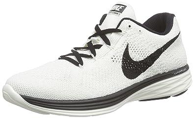 Women's Nike Wmns Flyknit Lunar 3 Total Crimson Concord Gamma Blue Sneakers : Y70s337