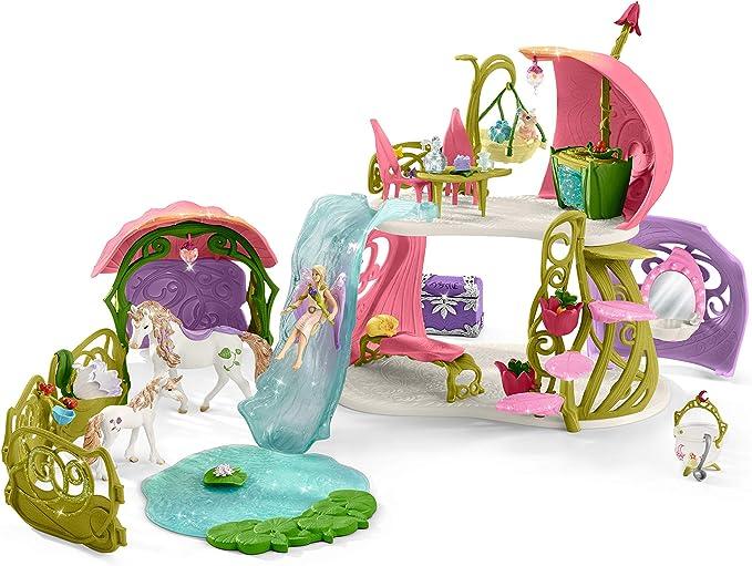 Schleich Bayala Hadas Elfos Con Princesa Unicornio coleccionable figura 70569 Nuevo