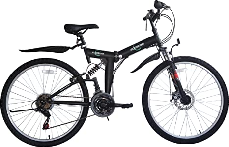 Ecosmo 26Sf02Bl+Carry Bag - Bicicleta Plegable (Suspensión, Más de ...