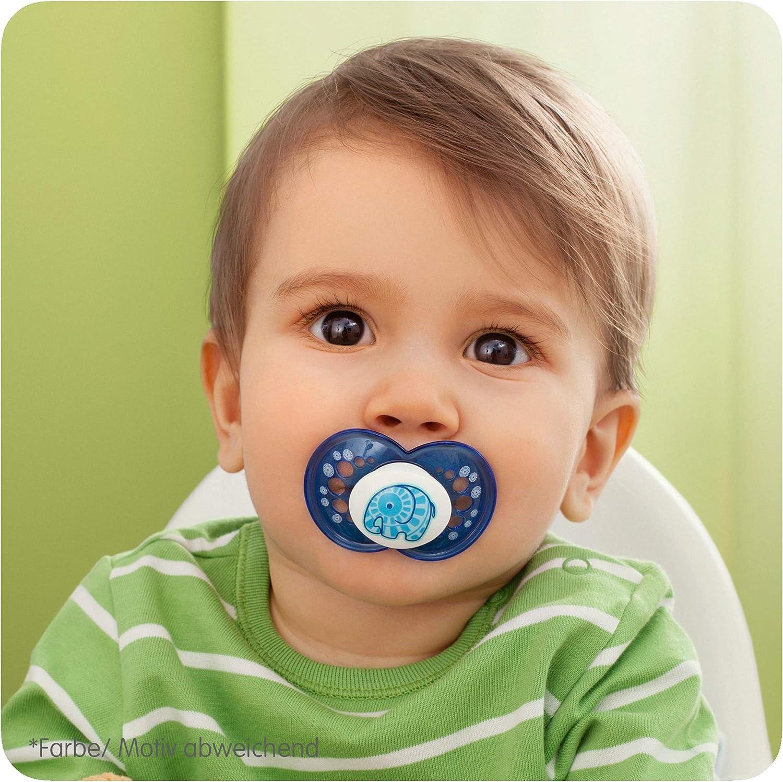 Mam Babyartikel Mod/èle Assorti 1 Unit/é Sucette en Silicone Naturel 6-16 Mois,
