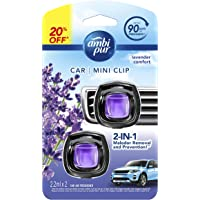 Ambipur Car Mini Clip Lavender Comfort Car Air Freshener 2 x 2.2ml