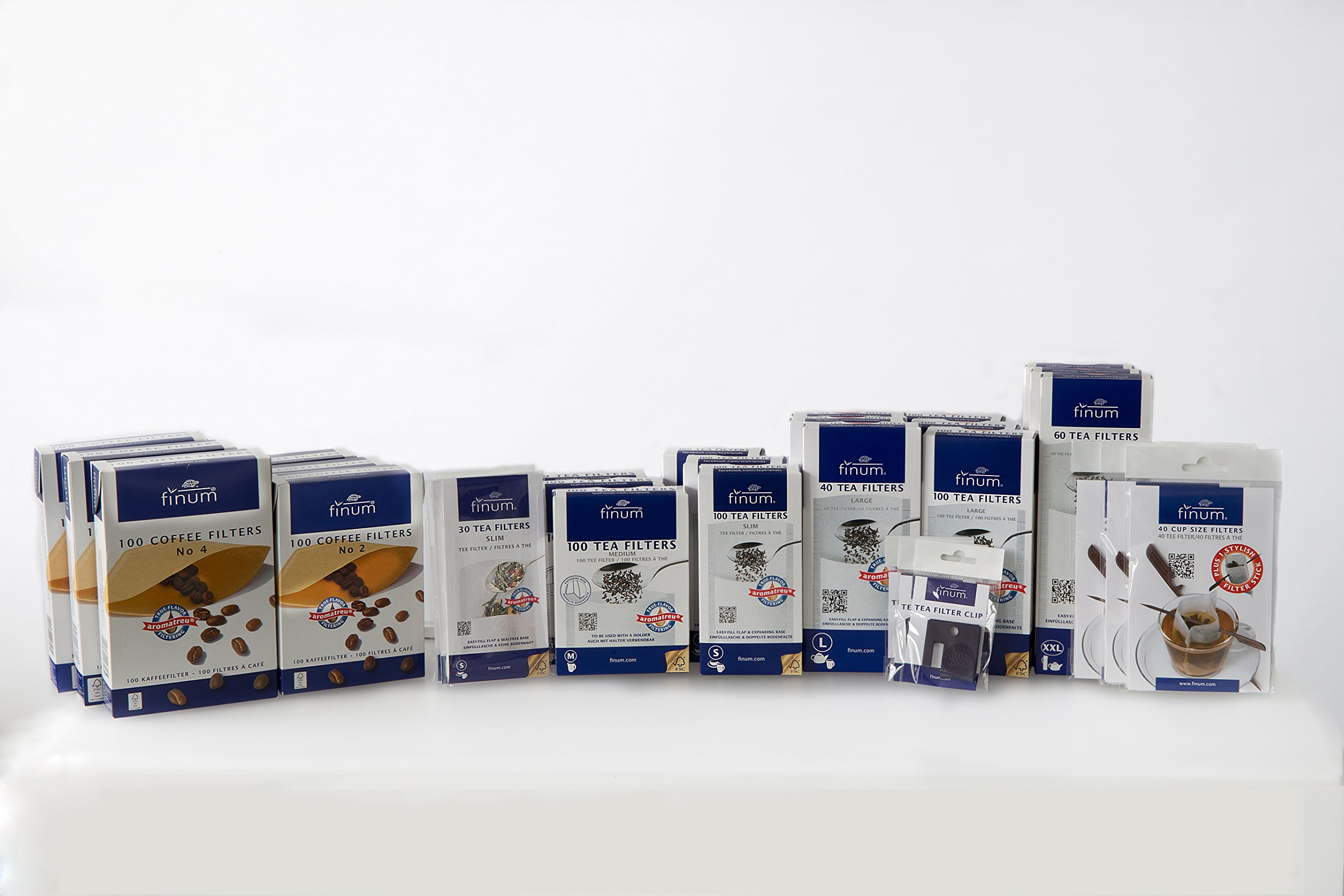 Tea Filter Variety Pack by Finum