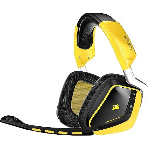 Corsair CA-9011135-EU VOID (RGB Wireless SE Gelb USB Dolby 7.1 Multi-Colour RGB Komfort) PC Gaming Headset gelb