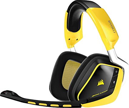 Corsair - Auriculares cómodos de Gaming para PC (inalámbricos, USB, Dolby 7.1)