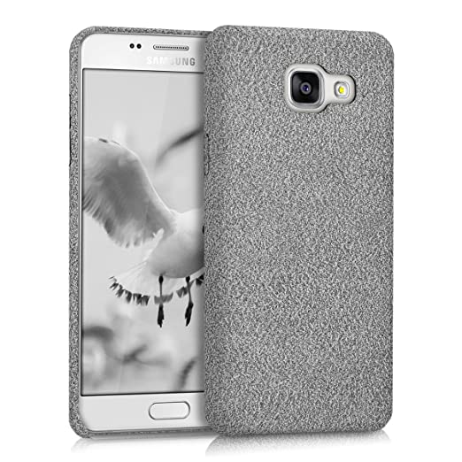 3 opinioni per kwmobile Cover per Samsung Galaxy A5 (2016)- Custodia morbida in tessuto per