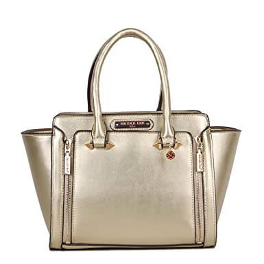 Nicole Lee Women s Ciel Medium Smart Lunch Handbag (Gold) Travel Shoulder  Bag, One 018cae3e1e