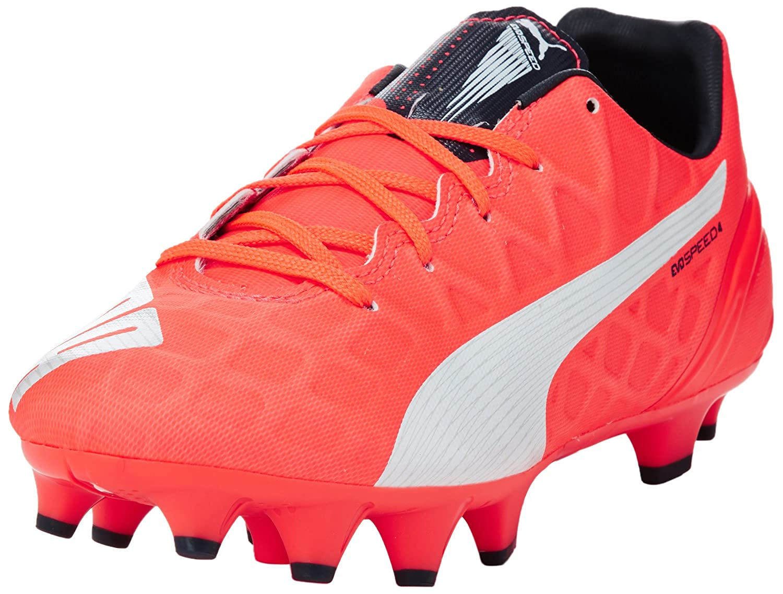 8d8a2418b336de Puma Unisex Kids  evoSPEED 4.4 FG Jr Football boots (training)   Amazon.co.uk  Shoes   Bags