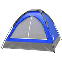 2-Person Dome Tent- Rain Fly & Carry Bag- Easy Set Up-Great for Camping, Backpacking, Hiking & Outdoor Music Festivals…