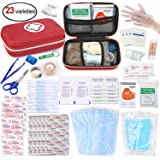 First Aid Medical Kit, Oumers All Purpose Emergency Survival Kit for Home Car Backpack Hiking Traveling Fishing