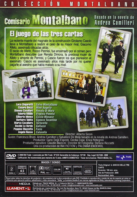 Amazon.com: Comisario Montalbano - in Spanish & Italian ...
