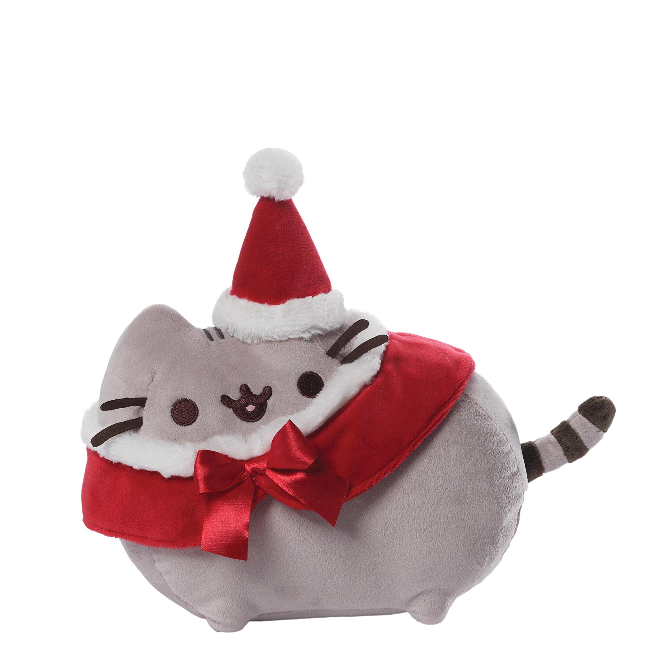 GUND Pusheen Christmas Plush Stuffed Animal by GUND
