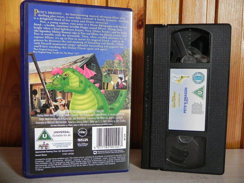 Petes Dragon [Reino Unido] [VHS]: Amazon.es: Helen Reddy ...