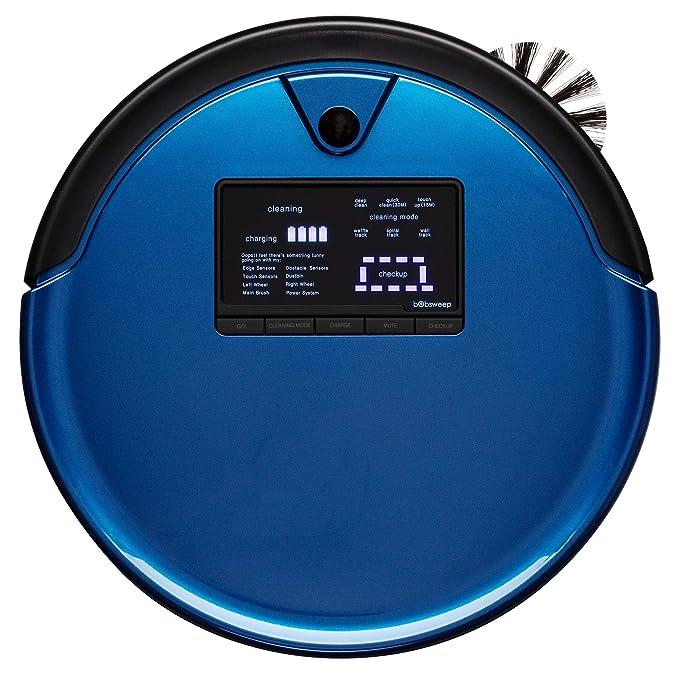 bObsweep PetHair Plus Robotic Vacuum Cleaner and Mop, Charcoal-parent Cobalt: Amazon.es: Hogar
