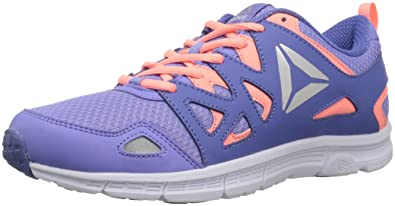 factory authentic 702eb 6ed48 Reebok Unisex-Kids Run Supreme 3.0 Sneaker, Lilac Glow Sour Melon Lil