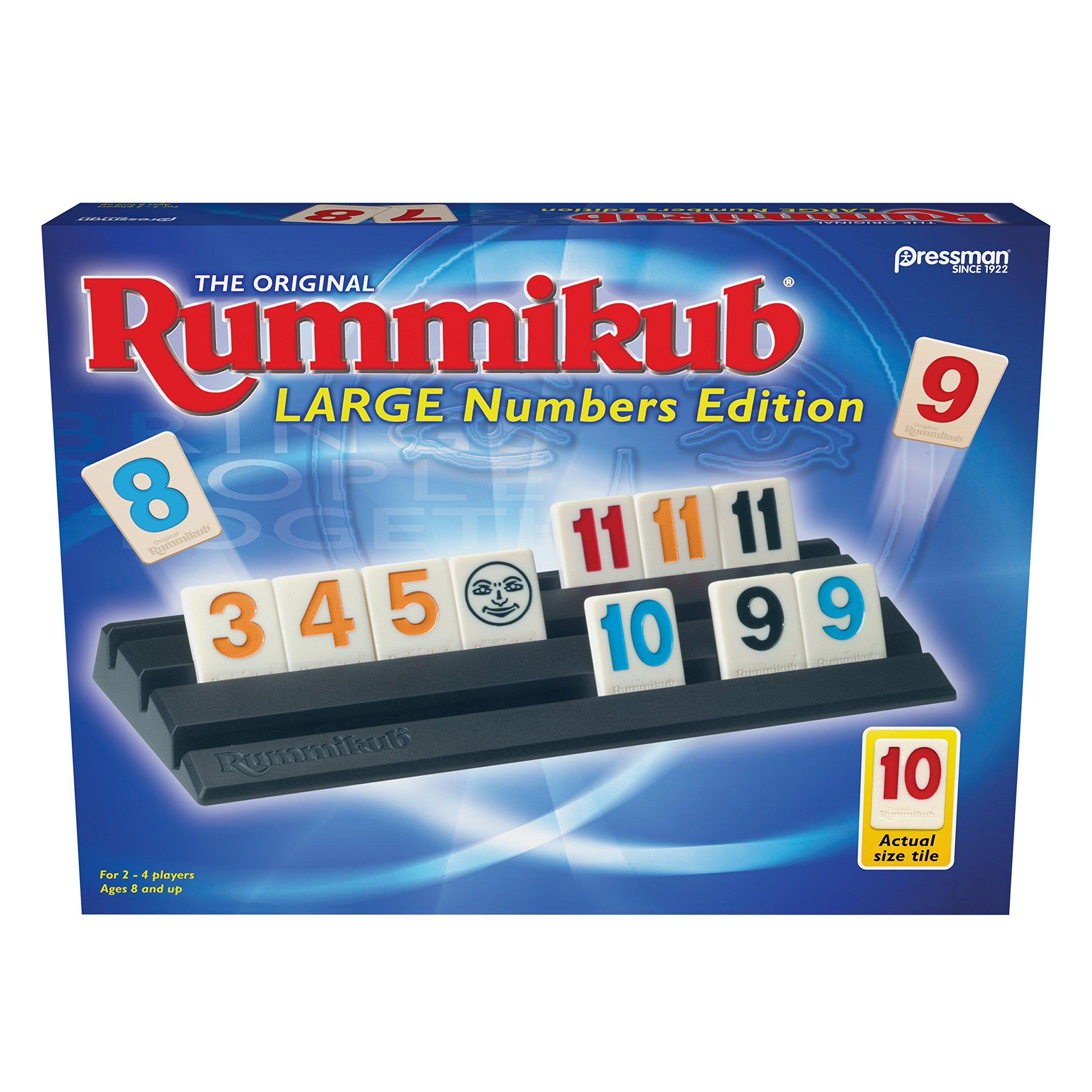 Pressman Rummikub Large Number Edition by Pressman