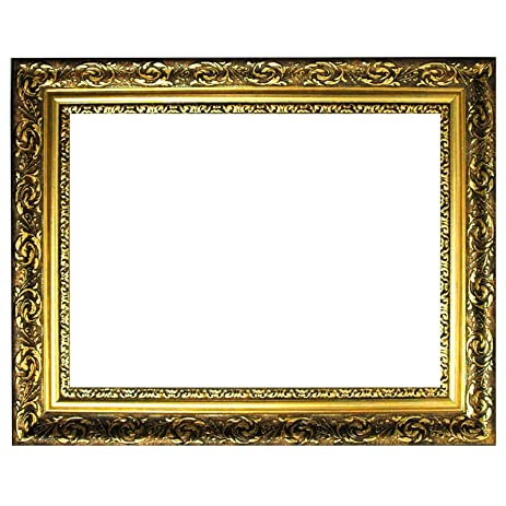 Amazon.com - Baroque frame gold finely decorated 840 ORO, empty ...