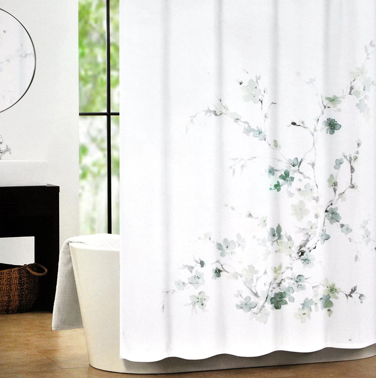 ordinary grey and white shower curtains part 5 amazoncom tahari luxury