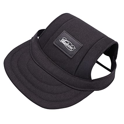 ITODA Dog Pet Hat Baseball Sun Visor Protection Sport Funny Doggy Cap with  Ear Holes and bb45d79b3c8