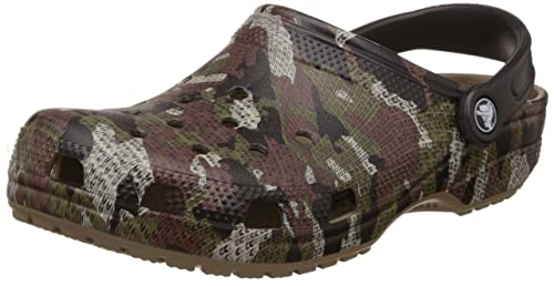 1c70f3077 crocs Unisex Classic Camo Clogs and Mules  Buy Online at Low Prices in  India - Amazon.in