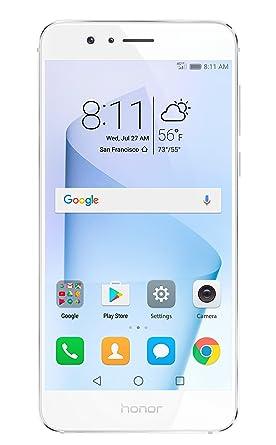 huawei usa phones. huawei honor 8 unlocked smartphone 32 gb dual camera - us warranty (pearl white) usa phones
